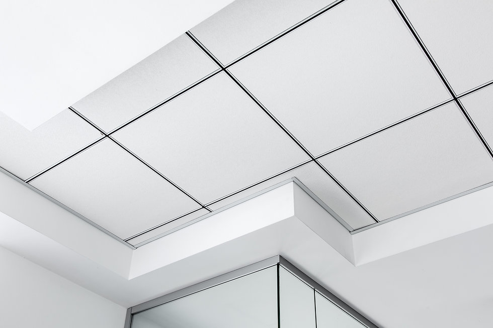 multi-level ceiling with three-dimension