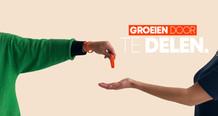 Nieuwe campagne: 'Groeien door te delen'! 📣