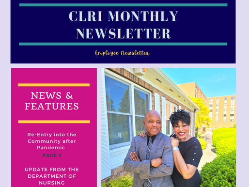 Community Living of Rhode Island Employee Newsletter April 2021 - May 2021
