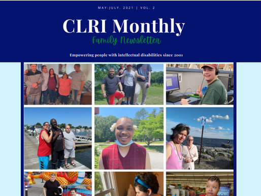 CLRI Family Newsletter V.2 May-July 2021