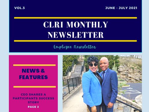 CLRI Employee Newsletter June - July 2021 V.3