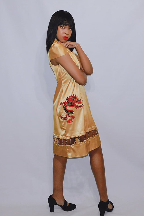 Golden Dragon Chain Dress