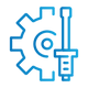 SAFEgroup Automation icon of a cog with a spanner next to it