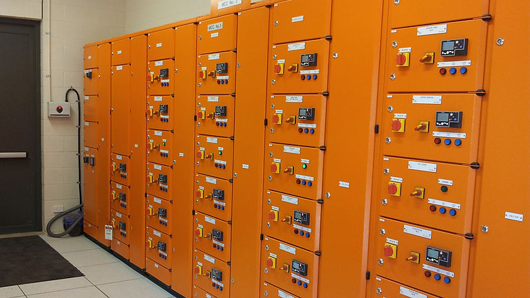 SAFEgroup Automation image of industrial panels