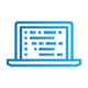 SAFEgroup Automation icon of a laptop with screen open