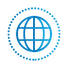 SAFEgroup Automation icon of a globe with dots surrounding it