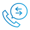 SAFEgroup Automation icon of a telephone with a speech bubble coming out of it