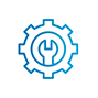 SAFEgroup Automation icon of a cog with a spanner inside