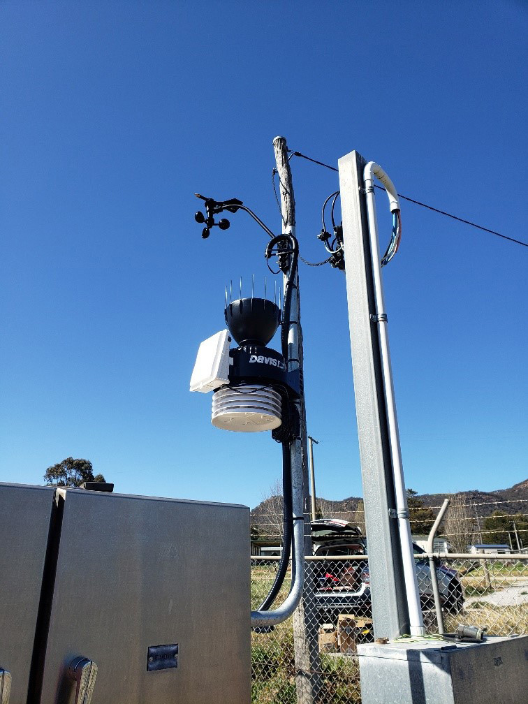 SAFEgroup Automation image on site of a weather installation