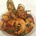 Spicy Seafood Stir-Fry