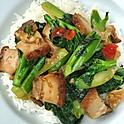 Chinese Broccoli & Crispy Pork