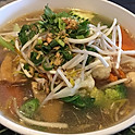 Tofu Veggies Noodle Soup