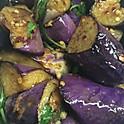 L. Tofu Spicy Eggplant