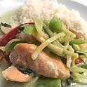 L. Salmon Green Curry