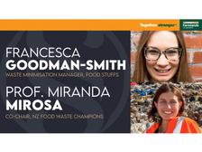 Upcycling food | Francesca Goodman-Smith & Prof. Miranda Mirosa