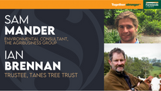 Biodiversity credits to incentive native trees?   Ian Brennan & Sam Mander