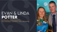 Farm environment heroes says it's not rocket science   Evan & Linda Potter