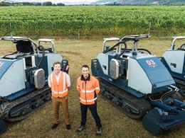 Autonomous vineyard tractors solve more than labour crisis  I  Andrew Kersley, Smart Machine