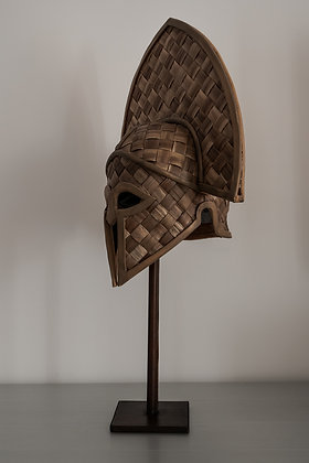 Straw Greek Helmet