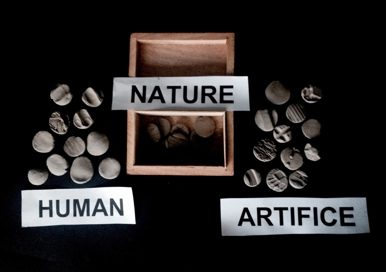 Human / Nature / Artifice
