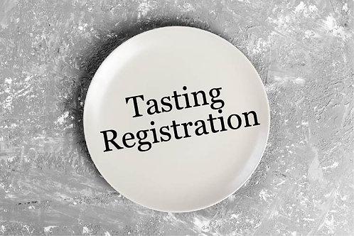 Brides ONLY - Tasting Registration