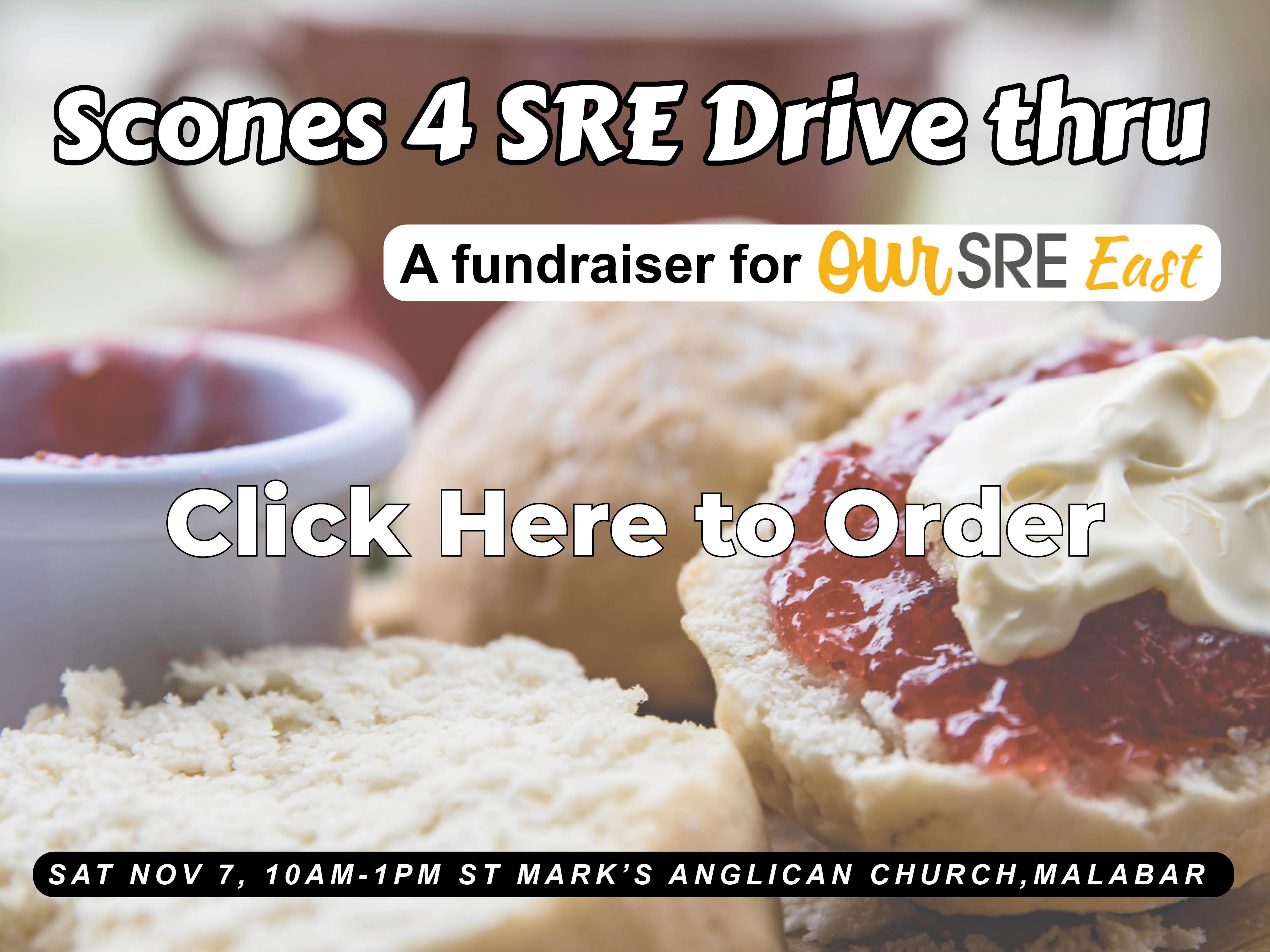 Scones for SRE HTK website