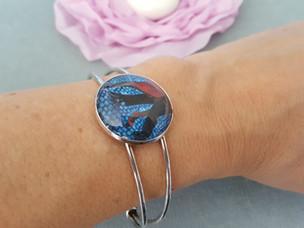 Bracelet avec résine