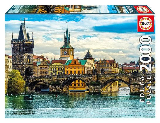 Casse-tête 2000 pièces - Vue de Prague