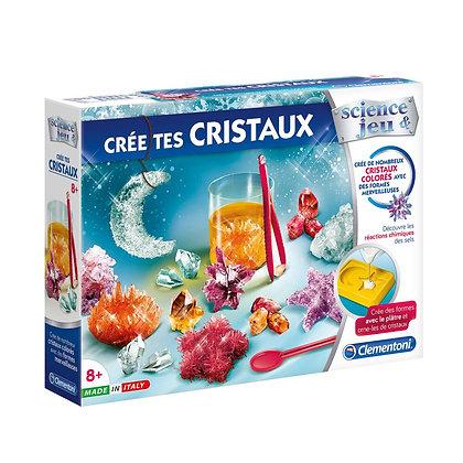 Clementoni - Crée tes cristaux version française