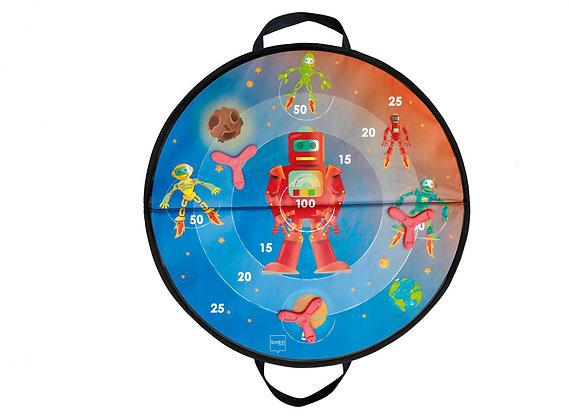 Scratch - Jeu de dards magnétiques Espace