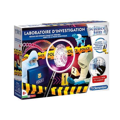 Clementoni - Laboratoire d'investigation version française