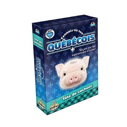 Jeu Connais-tu ton québécois? Version Tête de cochon!