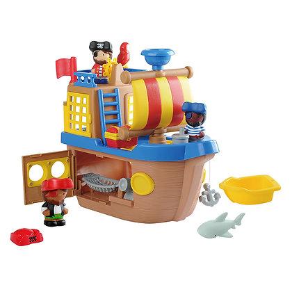 Happy Collection - Bateau de pirate 9 pièces