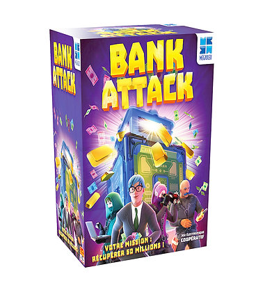 Megableu - Jeu Bank Attack version française