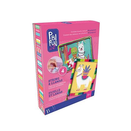PBI Fun Art - Ficelle et lamas