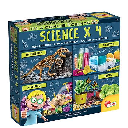 I'm a Genius - Coffret Scientifique x 4 Version bilingue