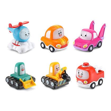 Tut Tut Cory Bolides - Mini véhicules Ensemble de 6 version française