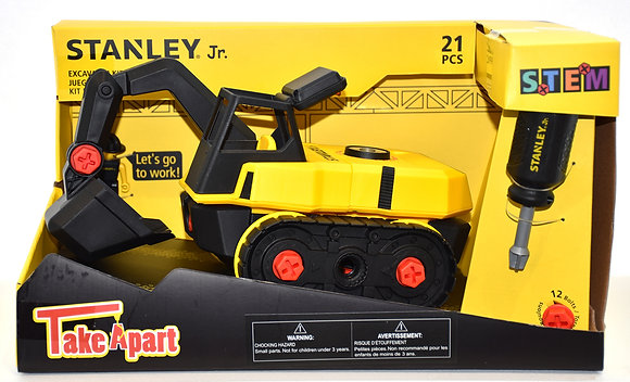 Stanley Jr. - Take a Part: Excavateur