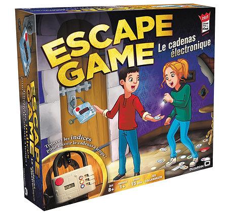 Jeu Escape game Le Cadenas électronique version française