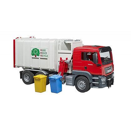 Bruder - MAN Camion poubelle chargement latéral