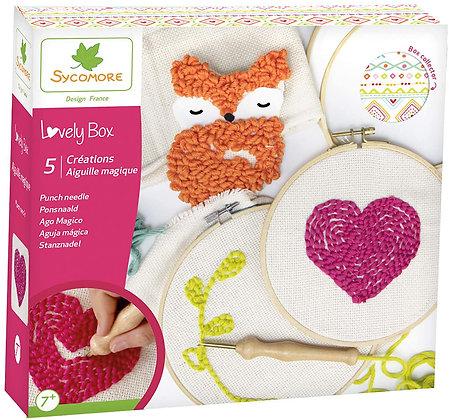 Lovely Box - Grand modèle 5 Créations Aiguille magique