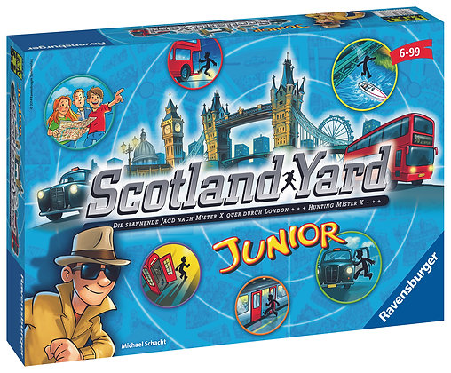 Jeu Scotland Yard junior