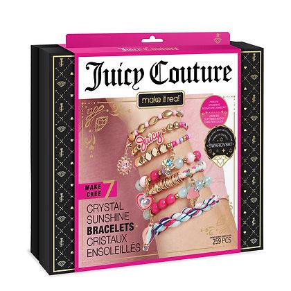 Juicy Couture Bracelets cristaux ensoleillés Swarovski