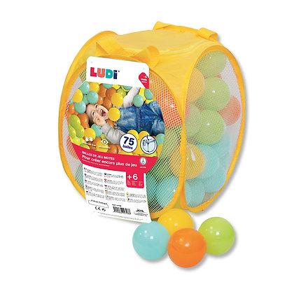 LUDI - Balles de jeu 75 pièces Mixtes