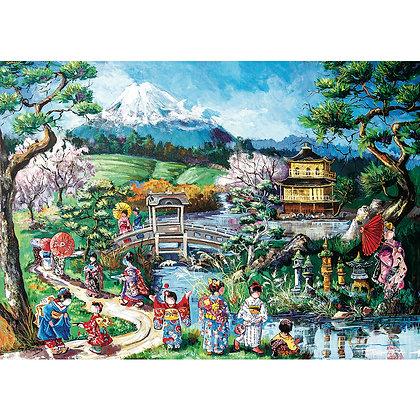 Casse-tête 1000 # Paquin - Visite au Japon