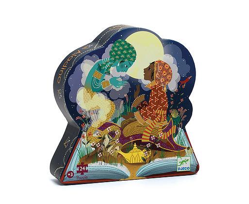 Casse-tête 24 pièces silhouette - Aladin