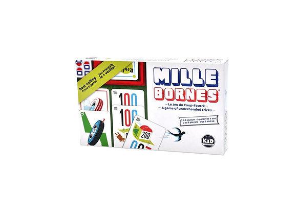 Jeu Mille Bornes Classique Version bilingue