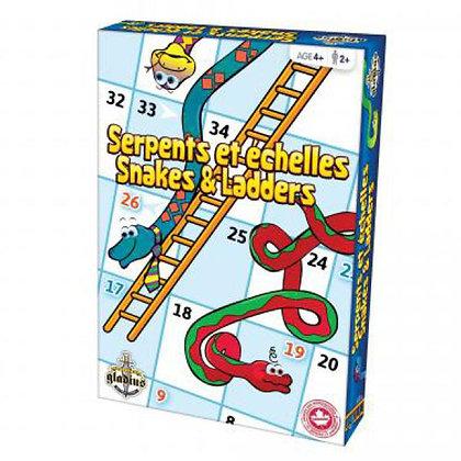 Jeu Serpents et échelles