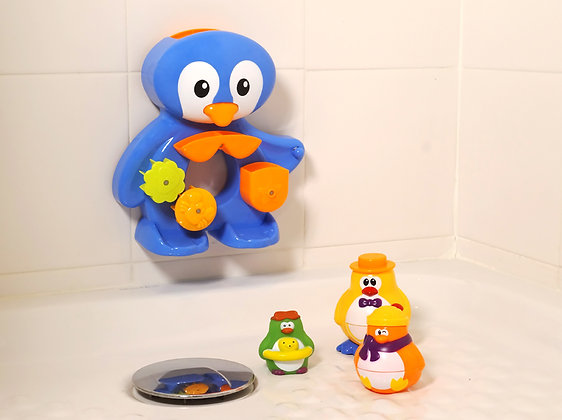 LUDI - Coffret de bain Pingouin