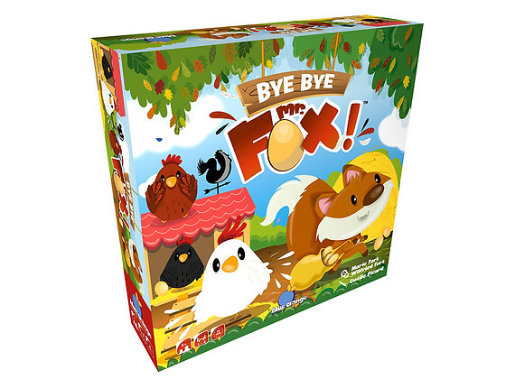 Jeu Bye Bye Mr Fox! Version bilingue